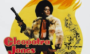 """A poster for Cleopatra Jones, 1973: 'She's 6ft 2"""" of dynamite'"""