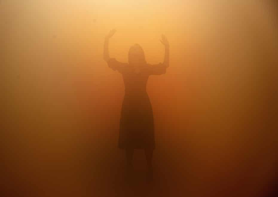 Olafur Eliasson's Your Blind Passenger at Tate Modern.