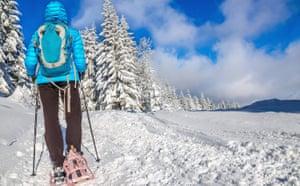 Alta Badia - Corvara, snow-shoeing