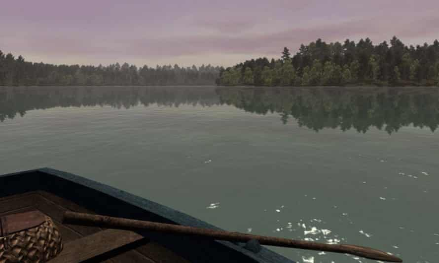 Screengrab from the video game, Walden – a game