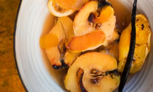 Soft and golden: quince with orange and vanilla.