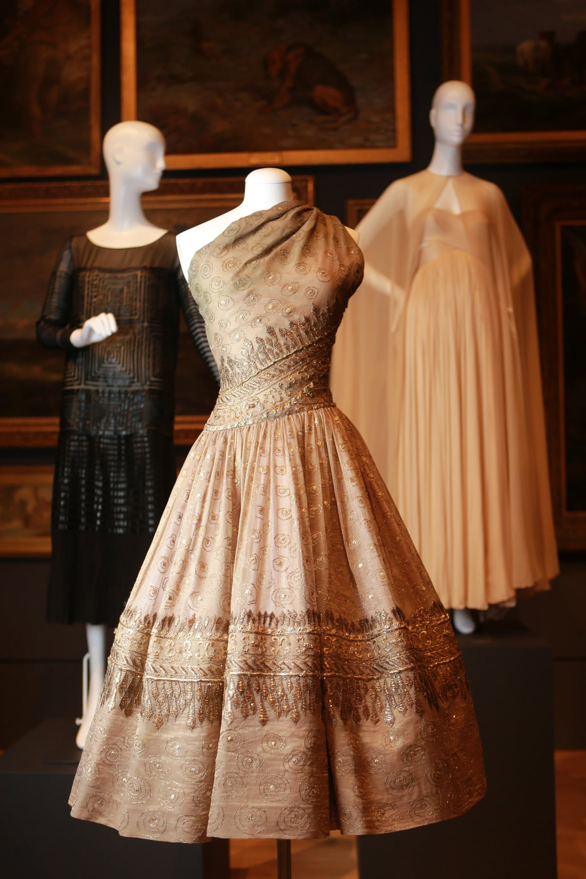 130 pieces of rare french haute couture acquired by for French couture dresses