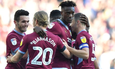 Tammy Abraham's goal gives Aston Villa's Dean Smith the perfect start