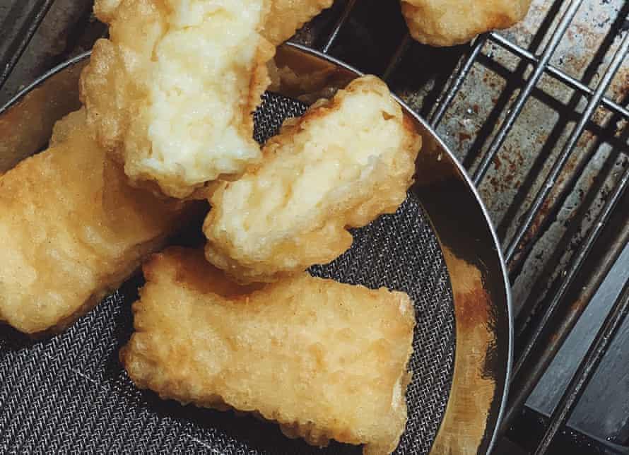 Fried milk by Rosheen Kaul