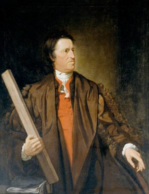 A portrait of William Beckford which hangs in a members only room.