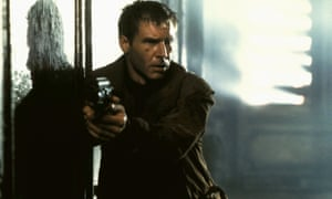 Harrison Ford as replicant hunter Rick Deckard in Blade Runner.