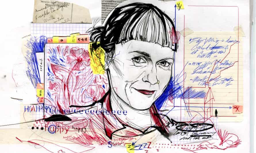 Nicola Barker … 'I write in three dimensions.'