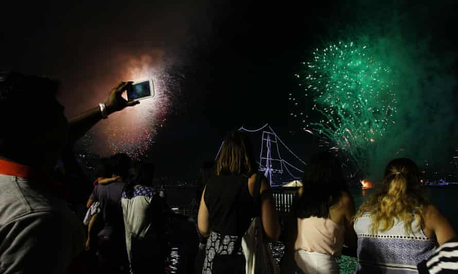 Police have launched an investigation into the incidents, which took place as the nation celebrated the New Year.
