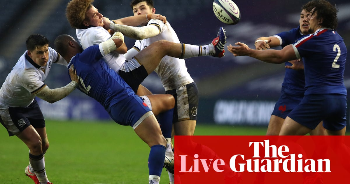 Scotland v France: Autumn Nations Cup – live!