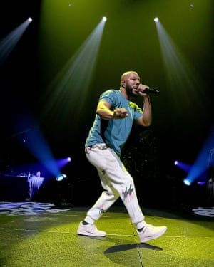 Common performing in Austin in August.