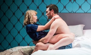 Outstanding performance … Rose Reynolds as Alice with Tom McKay in This Tuesday.