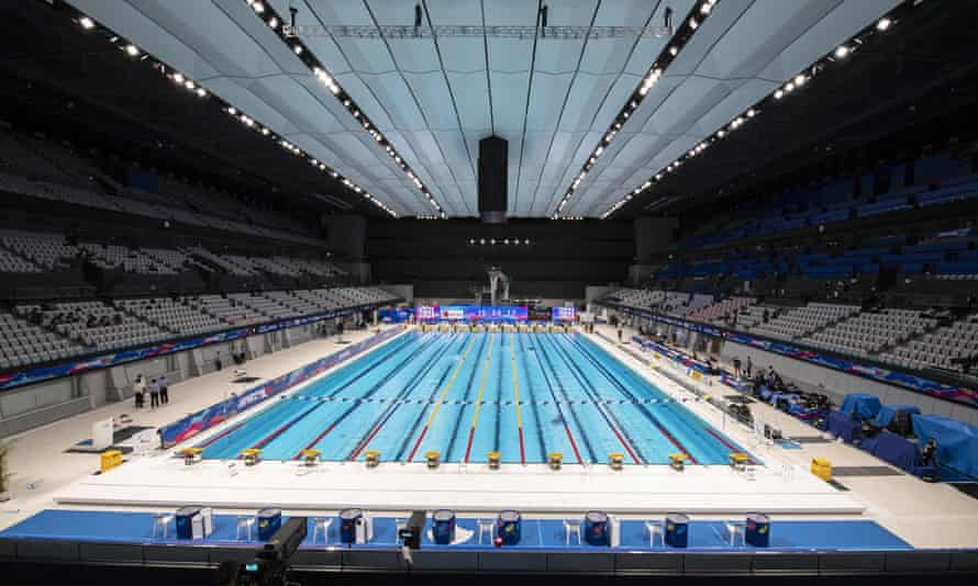 Tokyo Aquatics Centre will host the swimming, diving and artistic swimming events