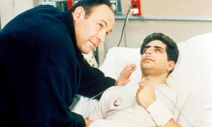 The hottest show of 2020? James Gandolfini, left, in The Sopranos.