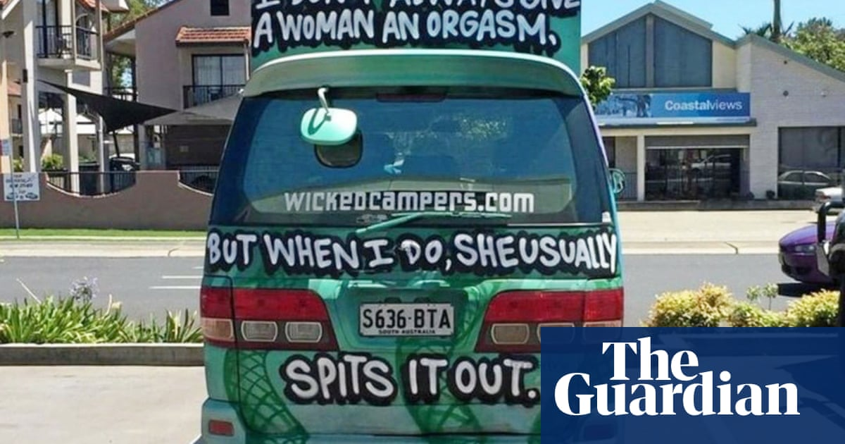 6686c9f8fc46e7 Wollombi music festival bans Wicked Camper vans over  misogynistic  slogans