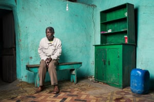 <strong>Monde Mxesibe<br></strong>Monde Mxesibe, 62, lives alone in Zagwityi near Butterworth. Monde worked on the mines for 26 years. He has pulmonary tuberculosis and, in 1996, he says he was told by the mine that he would be compensated. He has still received nothing.<br> <br>He says the scariest thing about working on the mine was the lift journey underground. Seventy-five people crammed into a cage which was held by just one steel rope. He says tried hard not to think about it and focused on the money he was making to send home to his parents