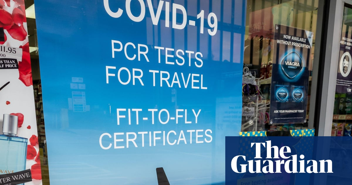Ministers launch review to weed out 'cowboy' Covid travel test firms