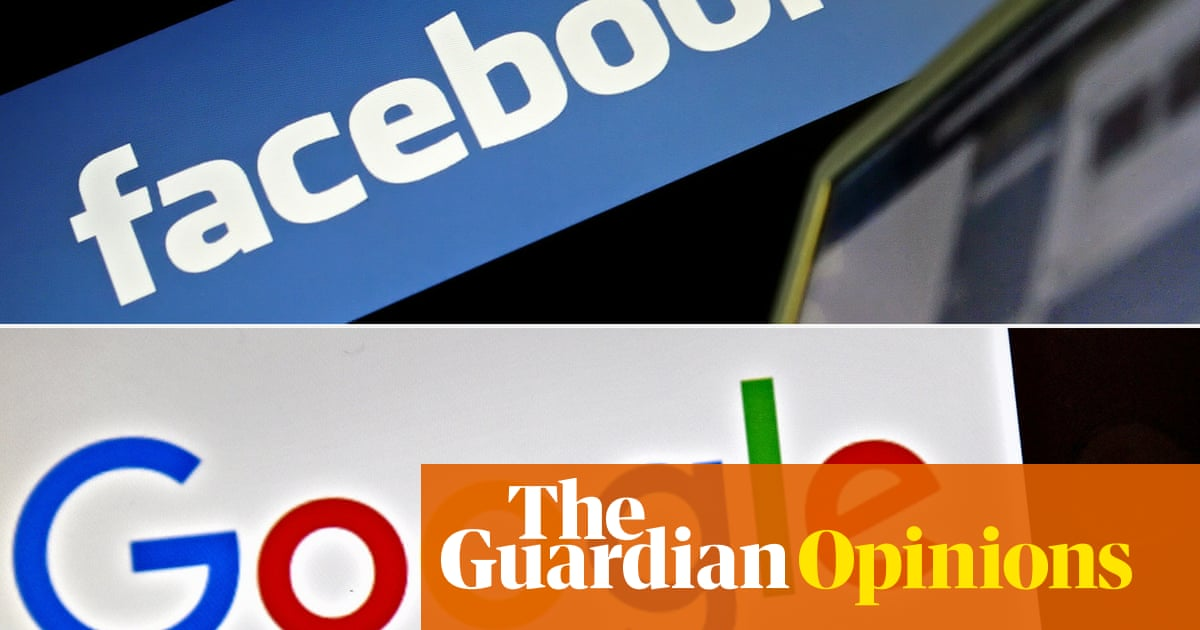 It's time for tighter regulation of how Facebook and Google use our data | Peter Lewis