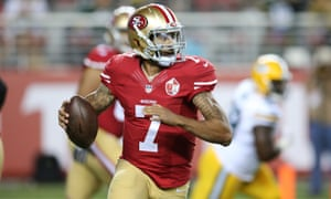 Colin Kaepernick said he will not stand for the national anthem.