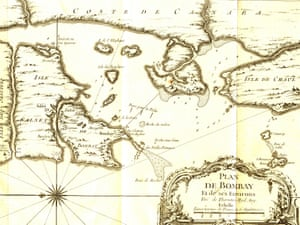 A map of Bombay as it was before the reclamations began.