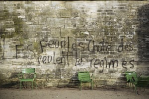 'Peoples want the fall of systems'