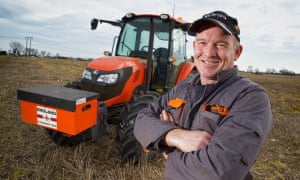 Mick Chappell, who is part of one of Britain'smost prominent ploughing families.