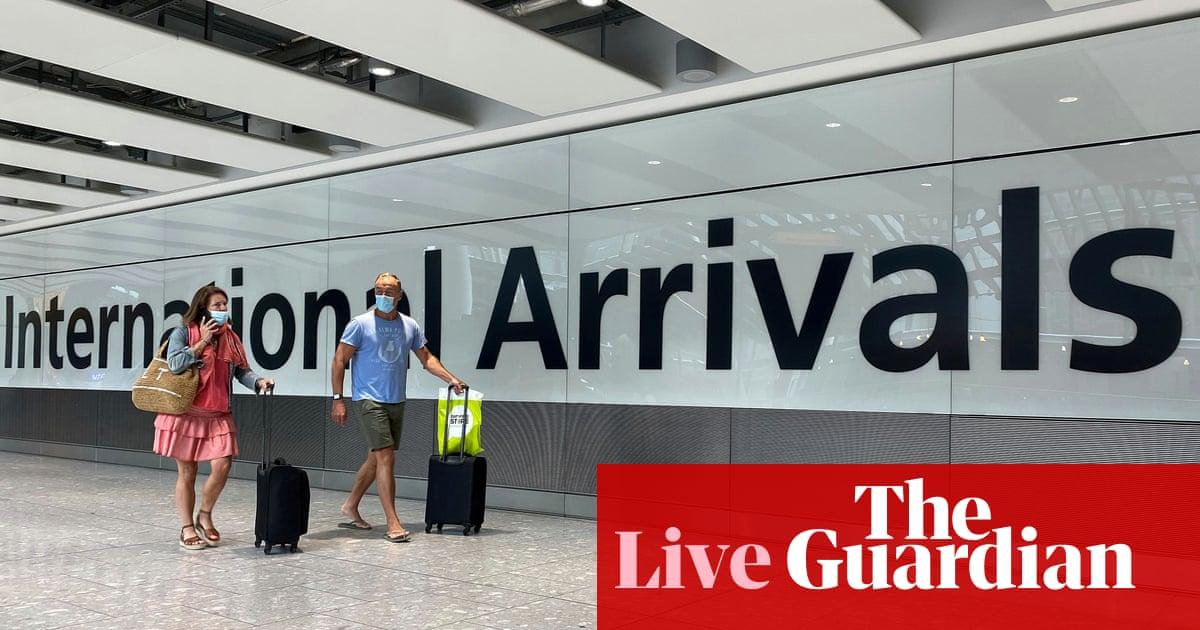 Uk Coronavirus Live Croatia Austria And Trinidad And Tobago Added To Quarantine List As It Happened World News The Guardian