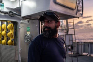 ROV supervisor Jason 'J-Rod' Rodriguez