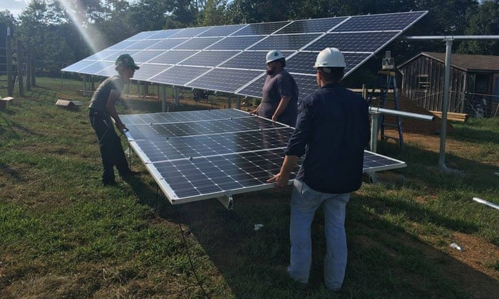 Green energy in a coal state: the struggle to bring solar jobs to