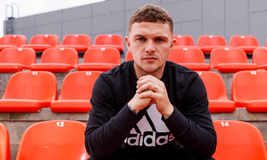 Kieran Trippier has settled in well in Spain and says he is having three Spanish lessons a week. 'I'm trying to banter as much as I can.'