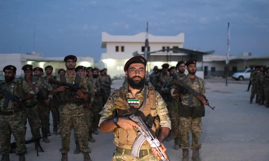 Syria's rebel National Army