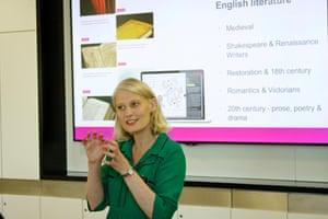 The British Library's Andrea Varney talks about using the library's Discovering Literature resources to enrich students' learning and reading