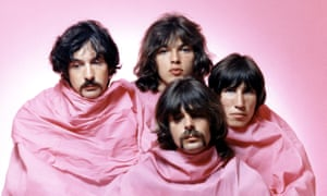 'We didn't really know what we were doing' … Nick Mason (left) in his early Pink Floyd days.