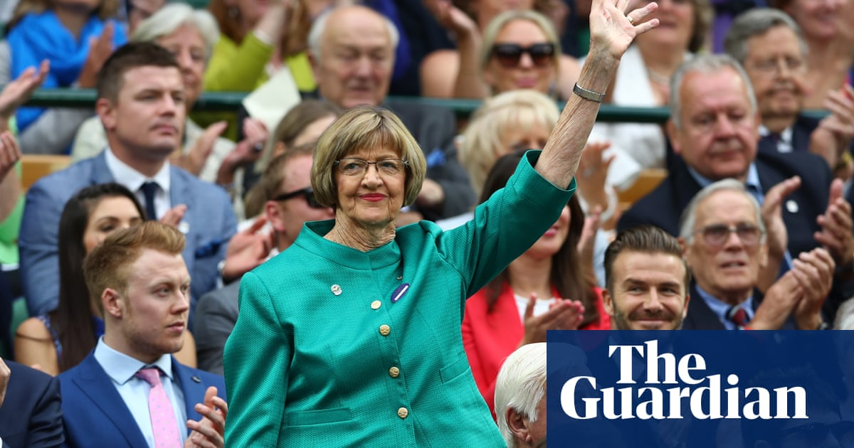 Margaret Court overlooked for Australian Open trophy presentation