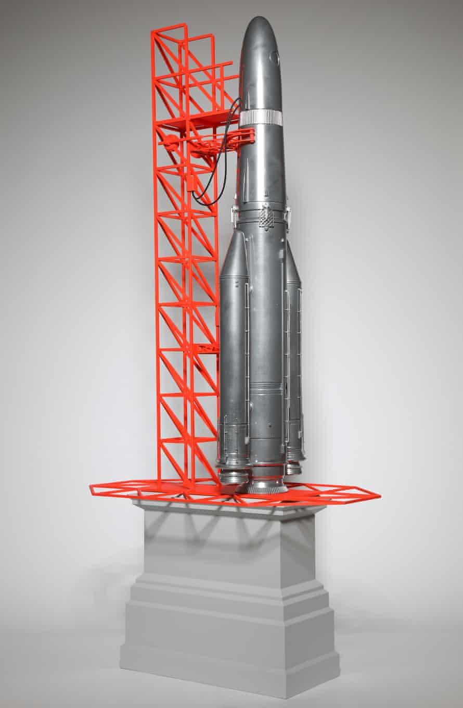 Blast off … the fourth plinth proposal by Goshka Macuga.