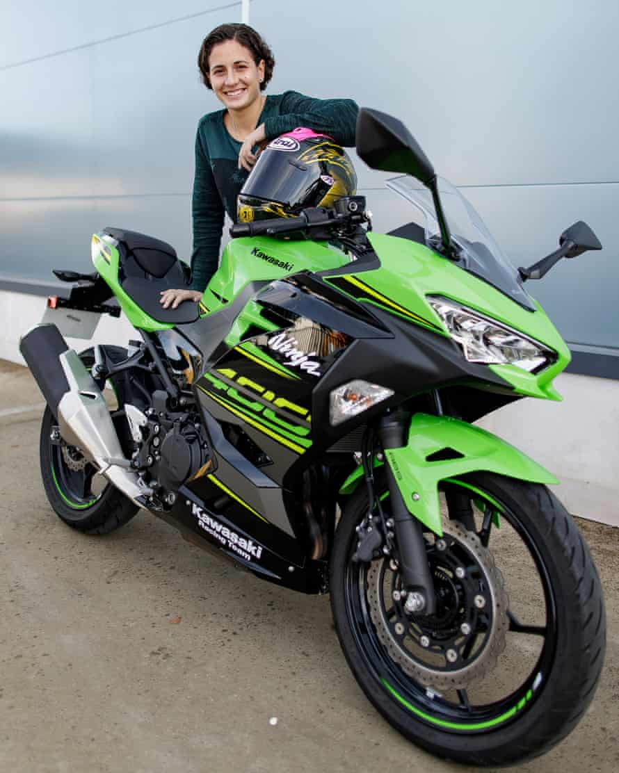 Ana Carrasco's season was almost derailed by rule changes that required her team to add 40kg to her Kawasaki Ninja 400.
