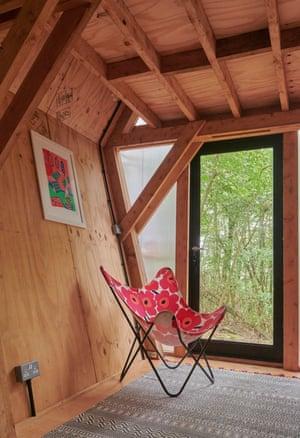 Interior of an eco-designed mobile home