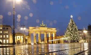 The Brandenburg Gate in Berlin this week.