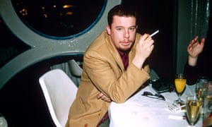 Alexander McQueen at the Smirnoff Fashion Awards, London, 1997.