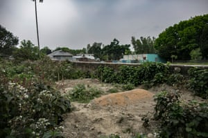 A graveyard for sex workers in Tangail.