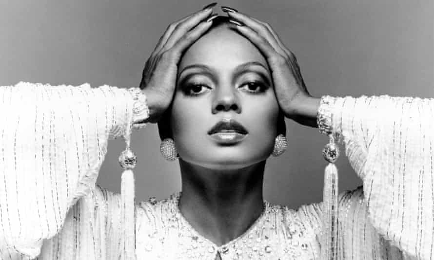 The Supremes' Diana Ross.