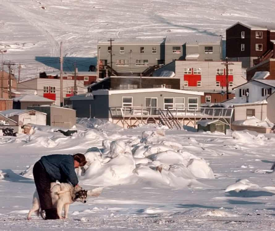 Iqaluit's population is now only about 50% Inuit, and English has replaced Inuktitut as the city's de facto language.