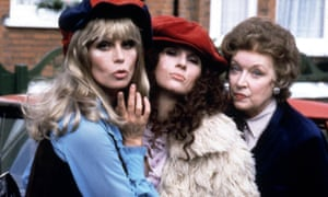 Patsy and Eddie in Absolutely Fabulous.