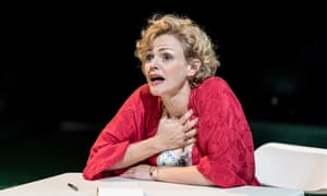 'Her connection with the audience is absolute': Maxine Peake as Blanche DuBois in A Streetcar Named Desire at the Royal Exchange.