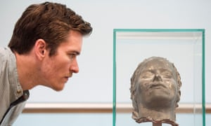Tracey Emin's 'Death Mask' on display in Margate Library, in partnership with Turner Contemporary, July 2018