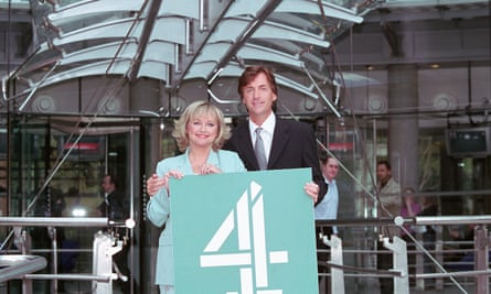 Launching their Channel 4 show in 2001.