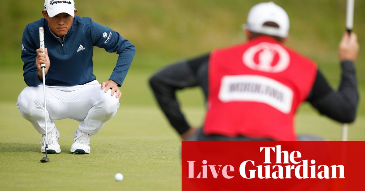 The Open 2021: second round – live updates!