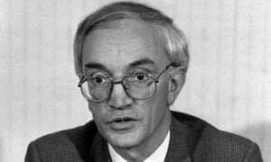 John Stalker in 1986. 'I was breaking new ground in my demands for access, and anti-terrorist operators within MI5 and the Special Branch were bitterly unhappy about even speaking to me,' he wrote in his autobiography.