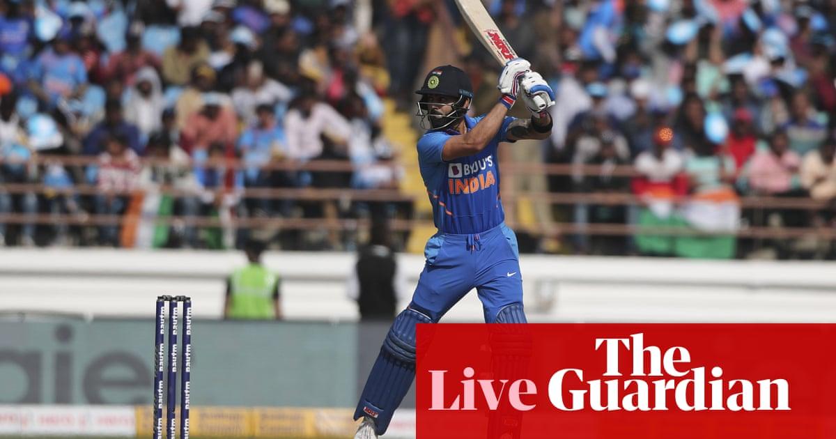 India v Australia: second one-day international – live!
