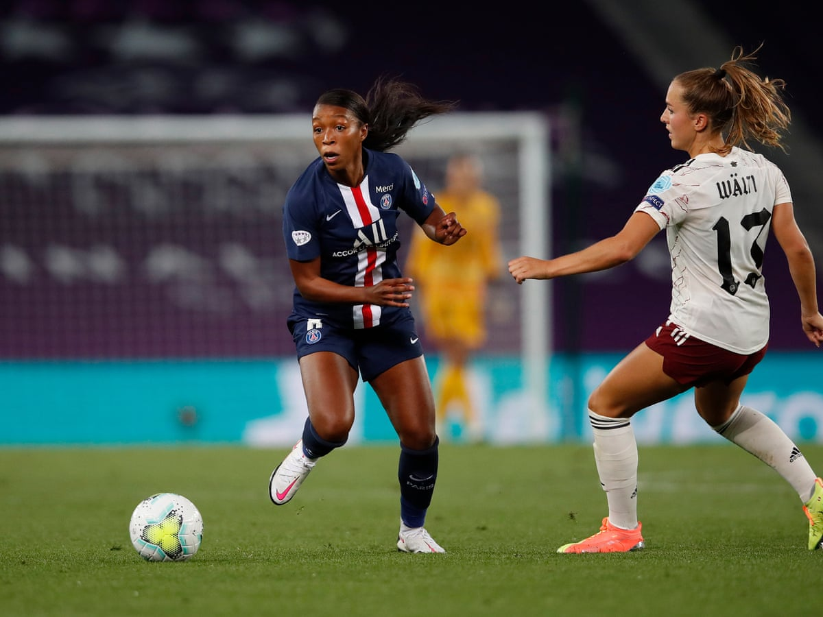 Psg Dream Of Precious Win Over Rivals And Champions League Holders Lyon Women S Champions League The Guardian