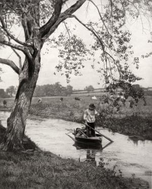 A Suffolk Dike, Circa 1887